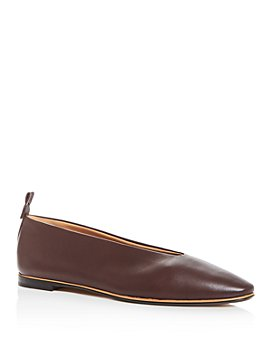 Bottega Veneta - Women's Almond-Toe Flats