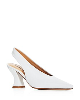 Bottega Veneta - Women's Almond-Toe Slingback Pumps