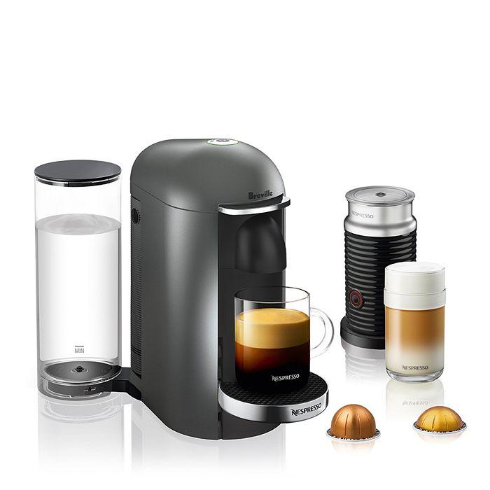 Nespresso - VertuoPlus Deluxe Bundle by Breville
