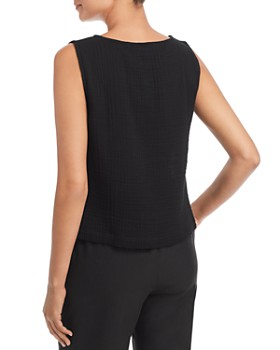 Eileen Fisher - Sleeveless Textured Top