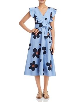 kate spade new york - Grand Flora Midi Dress