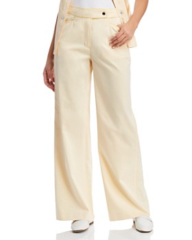 Tory Burch - Piped Wide-Leg Pants