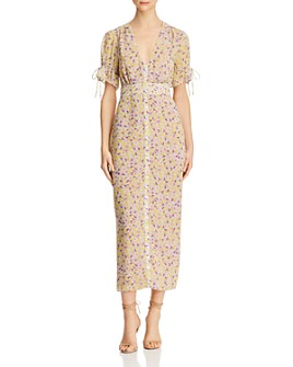 The East Order - Arlo Floral-Print Midi Dress