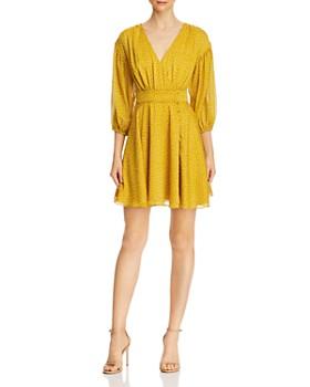 leRumi - Corinne Shirred Printed Mini Dress