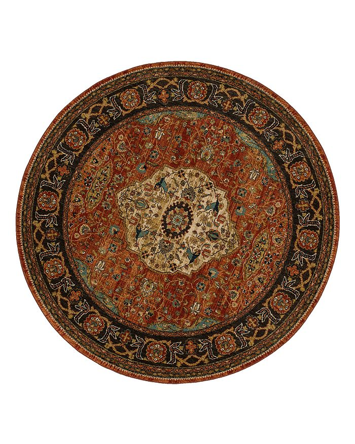Karastan Spice Market Petra Round Rug, 8 Round Rugs