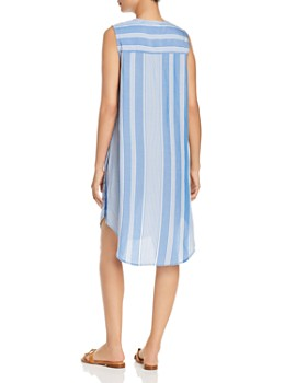 Single Thread - Sleeveless Striped Shift Dress