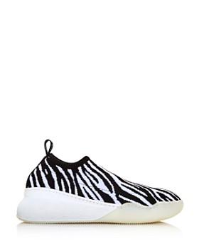 Stella McCartney - Women's Zebra-Print Sock Sneakers