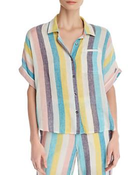 9de02ce4f8a Splendid - x Gray Malin St. Barths Striped Shirt ...