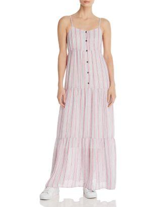 Promenade Tiered Maxi Dress by Splendid