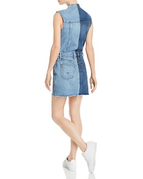 Hudson - DIY Pieced-Denim Dress
