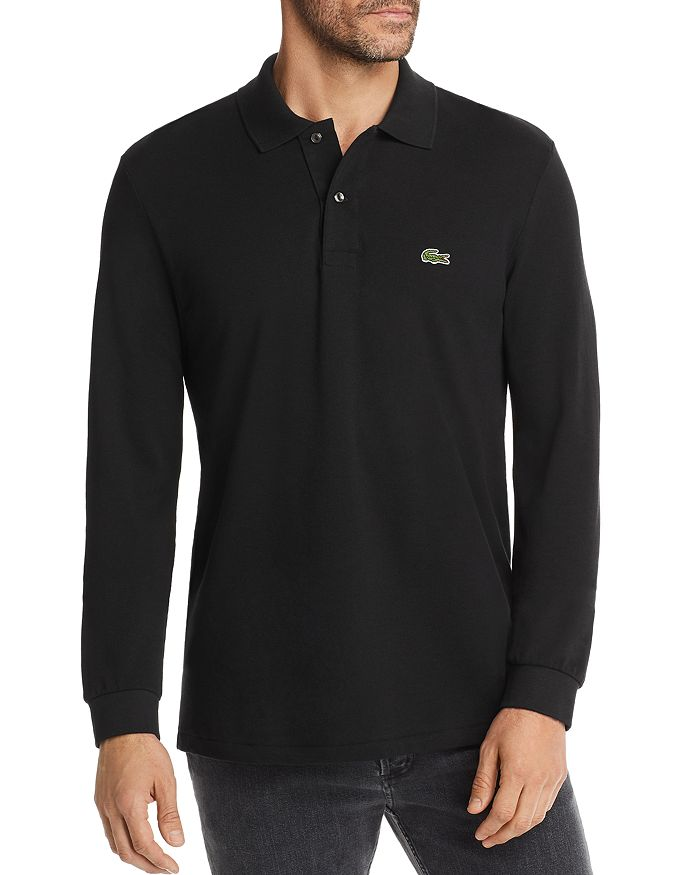 Lacoste - Classic Fit Long-Sleeve Piqué Polo Shirt
