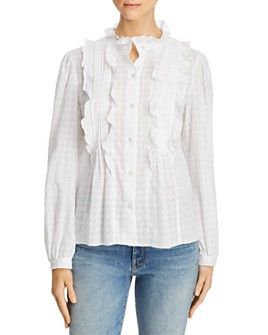Rebecca Taylor - Celia Ruffled Shirt