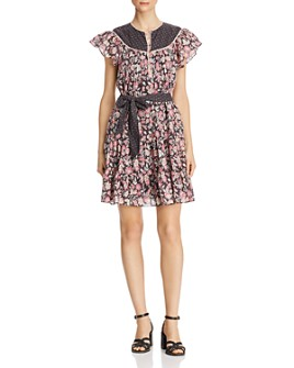 Rebecca Taylor - Patchwork Floral Dress
