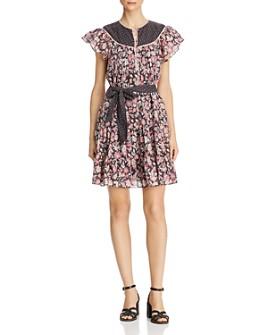 Rebecca Taylor - Patchwork Floral Dress