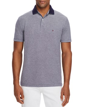 Tommy Hilfiger - Contrast-Collar Regular Fit Polo Shirt