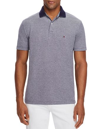Tommy Hilfiger - Contrast-Collar Regular Fit Polo Shirt