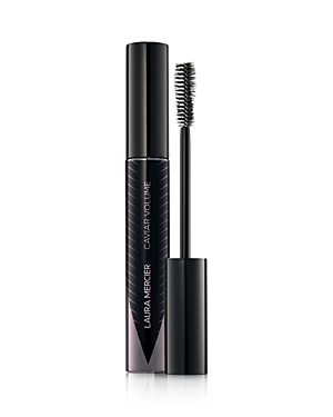 What It Is: A mascara offering a full panoramic look with glossy black pigments that condition lashes for a soft feel touch. What It Does: Glides on effortlessly to create high-impact volume, length and glossy intensity in one bold stroke. The signature Caviar Care Complex coats lashes from root to tip with rich, nourishing and hydrating conditioners that prevent dryness and hardening with wear that lasts all day. Gloss-encapsulated Noir de Noir Pigments create a deep and rich shade of intense b
