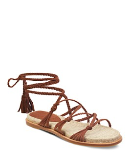 Sigerson Morrison - Women's James Ankle-Tie Sandals
