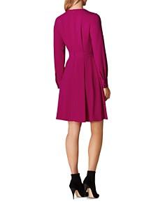 KAREN MILLEN - Belt Detail A-Line Dress