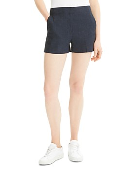Theory - Tailored Mini Shorts