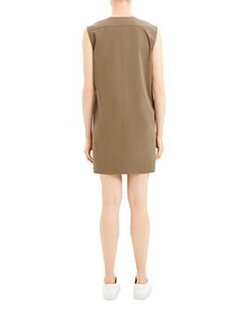 Theory - Utilitarian Mini Shift Dress