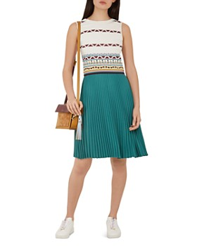 ee84ad654 Ted Baker - Colour by Numbers Zannan Color-Block Dress ...