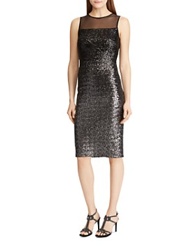 Ralph Lauren - Sequined Cocktail Dress