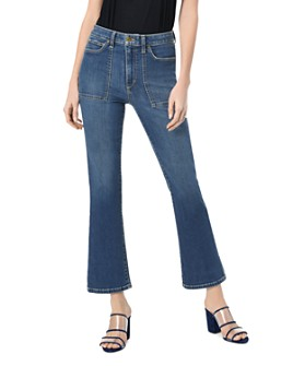 Joe's Jeans - Callie Utility-Pocket Crop Bootcut Jeans in Lucy
