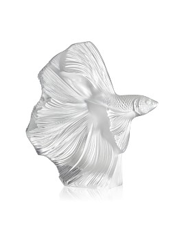 Lalique - Fighting Fish Figure
