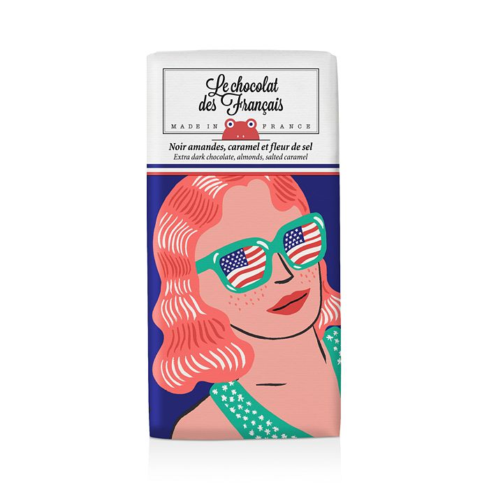 Le Chocolat des Francais - NYC Sunglasses Dark Chocolate with Almond Caramel & Salt