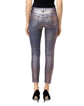 J Brand - Alana High-Rise Skinny Jeans in Rose Snake Foil
