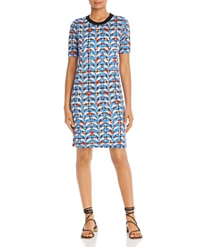 Scotch & Soda - Printed T-Shirt Dress
