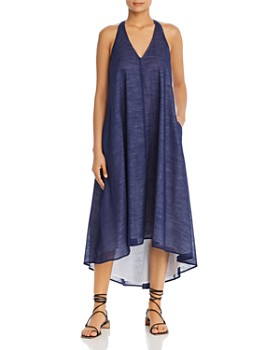 Kenneth Cole - Sleeveless High/Low Maxi Dress