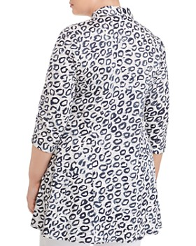 NIC and ZOE Plus - Leopard Kisses Shirt