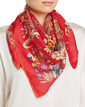 Salvatore Ferragamo - Safari Silk Scarf