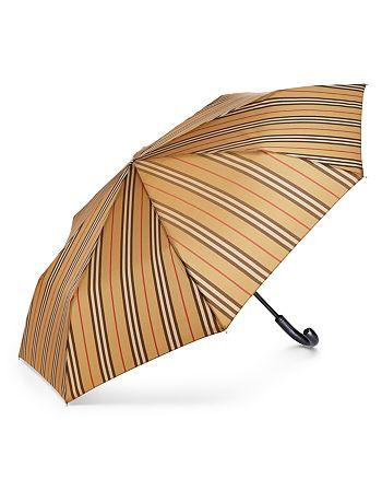 Burberry - Trafalgar Icon Stripe Umbrella