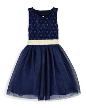 0c6dd87d01 US Angels - Girls' Floral Lace Dress - Little Kid ...