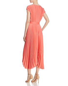 BOSS - Desplaya Cap-Sleeve Pleated Dress
