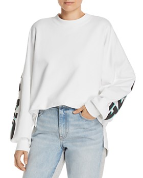 alexanderwang.t - French Terry Logo Sweatshirt