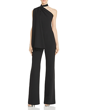 Black Halo Suits ABBY ASYMMETRIC JUMPSUIT