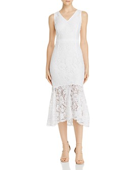 nanette Nanette Lepore - Lace Midi Dress