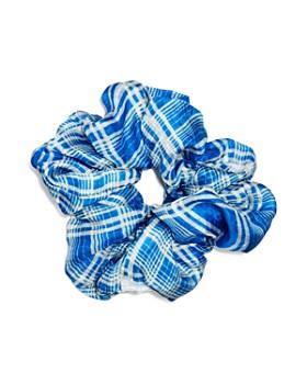 Chan Luu - Plaid Silk Scrunchie