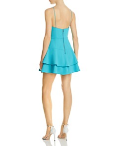 Alice and Olivia - Palmira Tiered Fit-and-Flare Dress