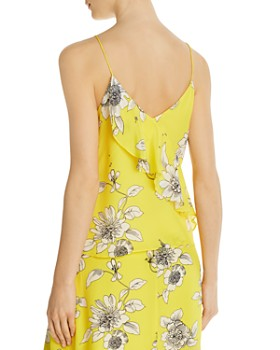 Alice and Olivia - Lavonia Floral Silk Camisole