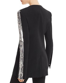 David Koma - Sequin-Sleeve Jacket