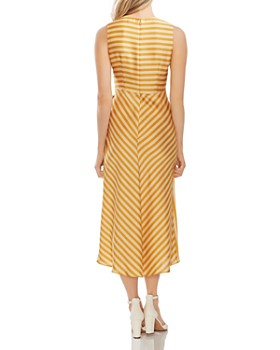 VINCE CAMUTO - Sleeveless Striped Dress