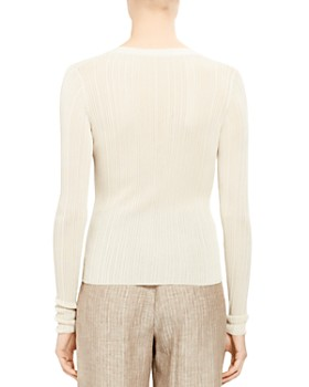 Theory - Lightweight Ribbed Cardigan