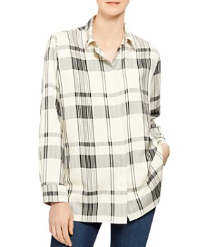 Theory - Classic Menswear Plaid Shirt