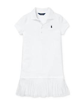 Ralph Lauren - Girls' Pleated Drop-Waist Polo Dress - Big Kid