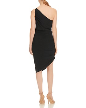 HALSTON HERITAGE - Ruched Sheath Dress